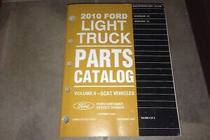 2010 Ford E350 Van Owners Manual