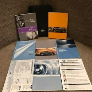 2010 Ford Edge Owners Manual With SYNC Book And Warranty