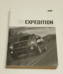 2010 FORD EXPEDITION OWNERS MANUAL KING RANCH LIMITED XLT