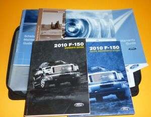 2010 FORD F150 F 150 OWNERS MANUAL SET GUIDE 10 Case XL