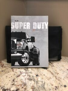 2010 10 Ford Super Duty Owners Manual With Case F250 F350