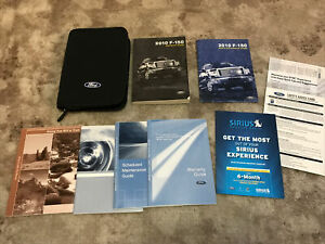 2010 Ford F150 Owners Manual With Case OEM Free Shipping