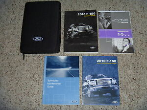 2010 Ford F 150 Factory Owner Operator Manual XL XLT STX