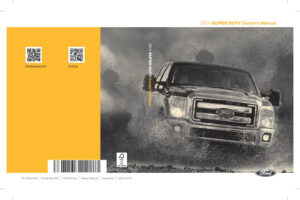 2014 Ford F-250 Owners Manual