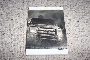 2014 Ford F250 Lariat Owners Manual