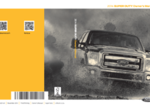 2014 Ford F250 Owners Manual
