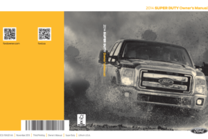 2014 Ford F250 Owners Manual Pdf
