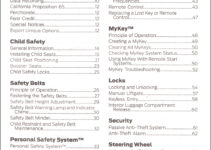 2014 Ford Fiesta Owners Manual