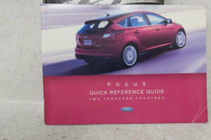 2014 Ford Focus Owners Manual