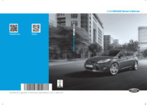 2014 Ford Focus Owners Manual Pdf