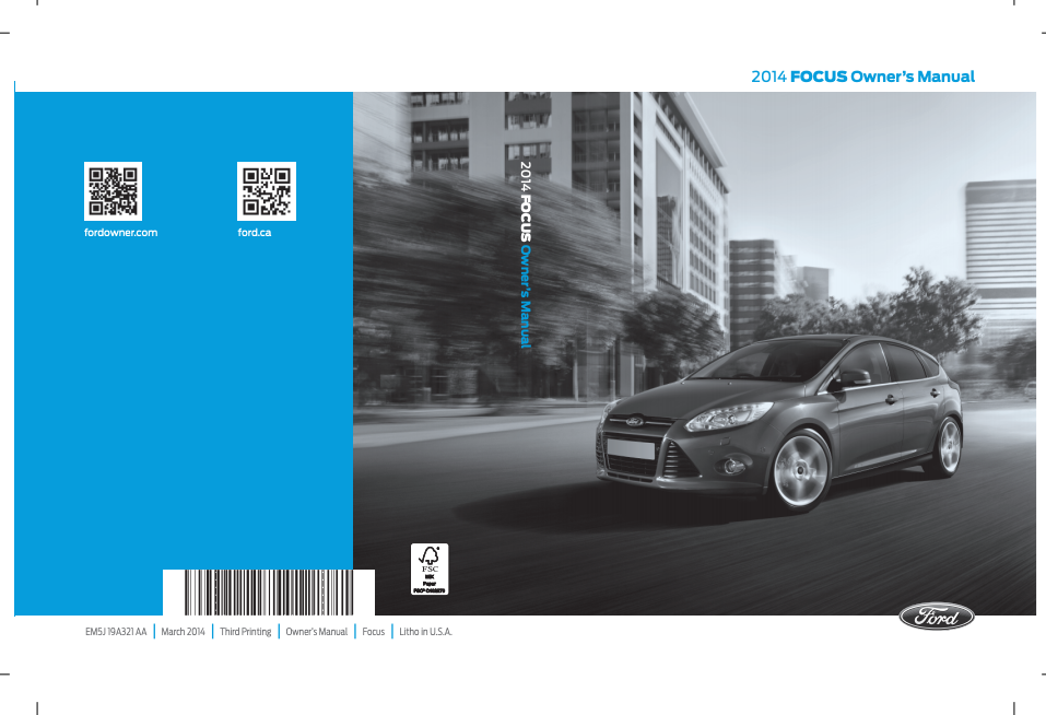 2014 Ford Focus Owner s Manual Sign Up Download