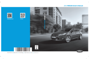 2014 Ford Focus St Owners Manual Pdf