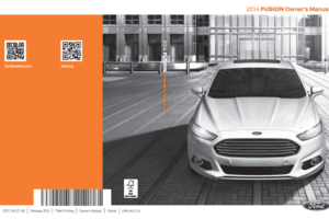 2014 Ford Fusion Owners Manual Download