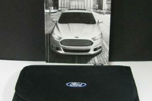 2014 Ford Fusion Se Ecoboost Owners Manual