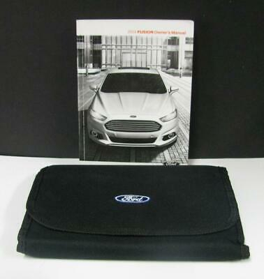OWNER 39 S MANUAL 2014 FORD FUSION With CASE Free Shipping EBay