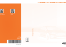 2019 Ford Fusion Owners Manual Pdf