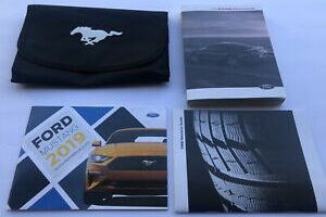 2019 Ford Mustang 5.0 Owners Manual
