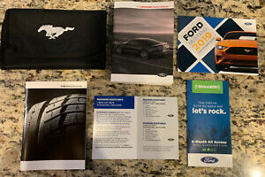 2019 Ford Mustang Ecoboost Owners Manual