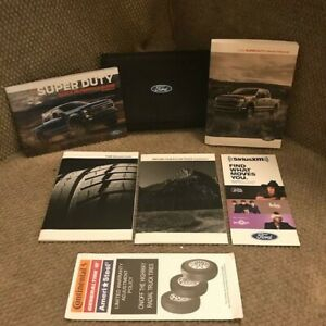 2020 Ford SuperDuty Diesel F250 F350 Owners Manual With