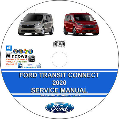 Ford Transit Connect 2020 Factory Workshop Service Repair