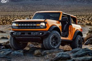 2022 Ford Bronco Limited Edition – Changes