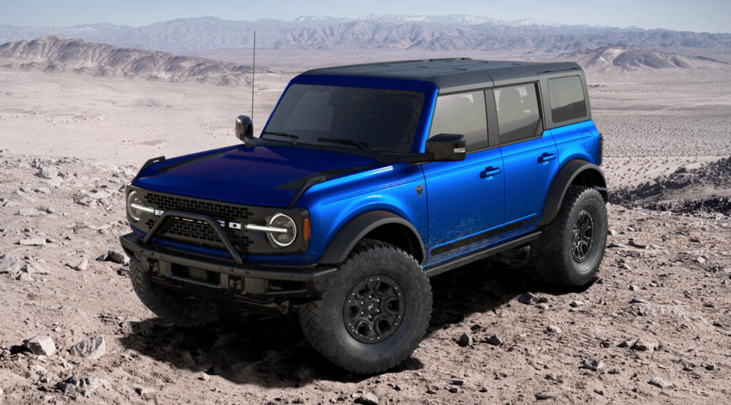 The 2022 Ford Bronco Will Have Multiple Special Editions