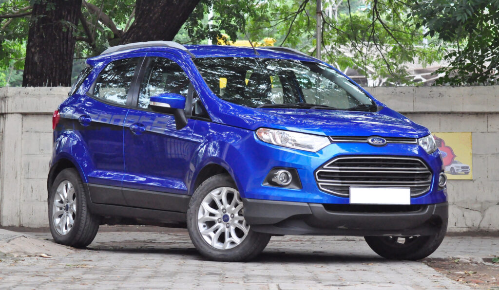 New 2022 Ford Ecosport Blue MSRP Towing Capacity