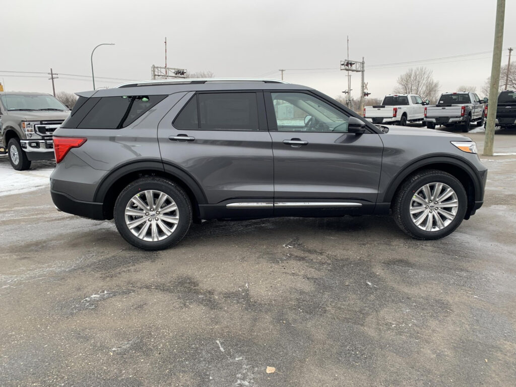 2021 Ford Explorer Limited Carbonized Gray 2 3L EcoBoost