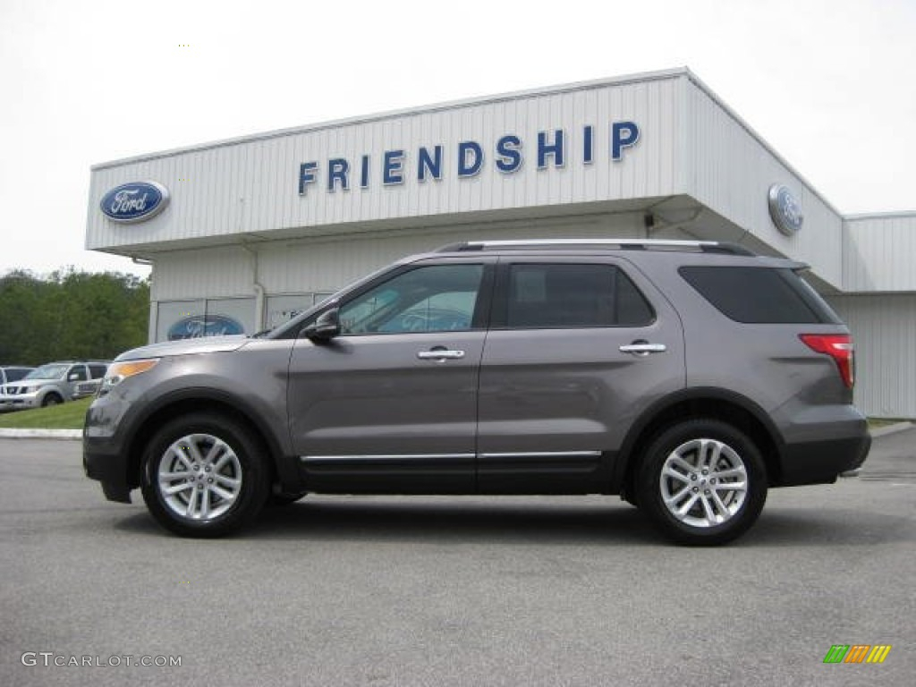 2022 Ford Explorer Stone Gray Engine Cargo Space