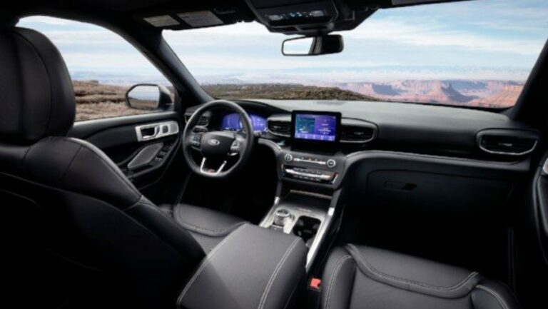 New 2022 Ford Explorer Interior Colors Release Date