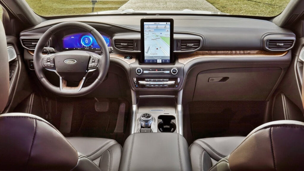 2020 Ford Explorer St Interior Pictures Redesign Ratings