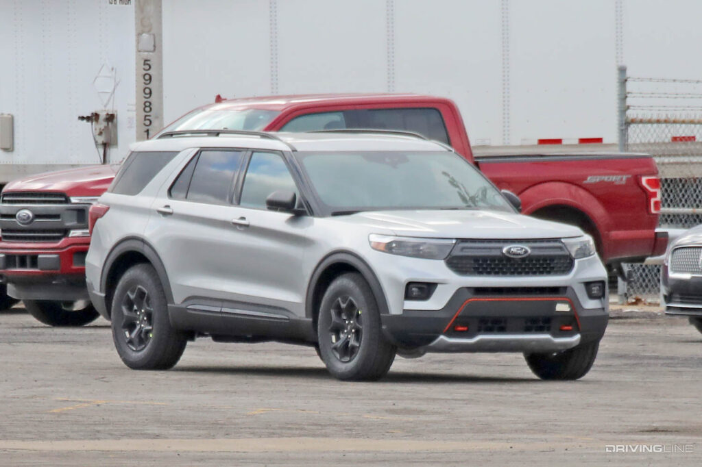 Off Road 2022 Ford Explorer Timberline Spy Photos