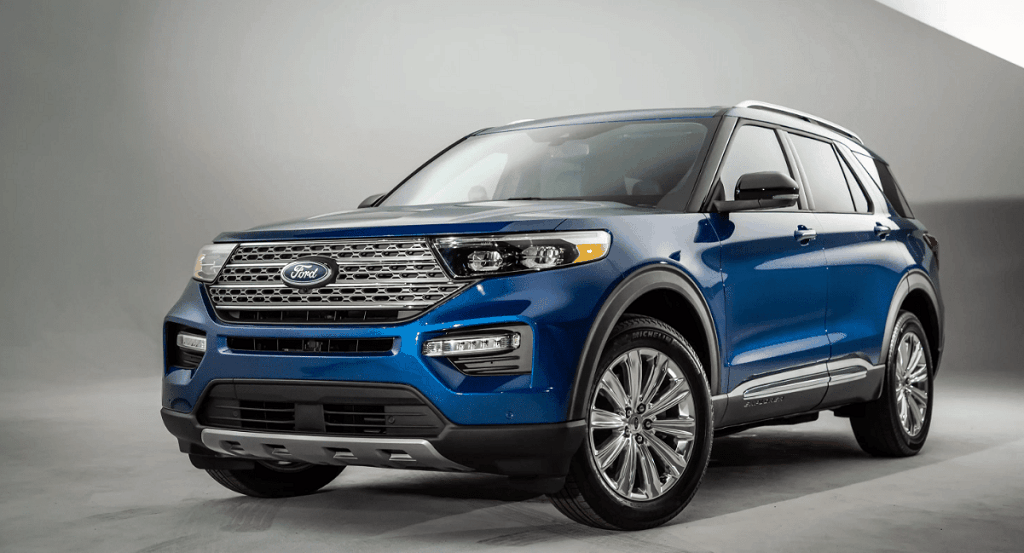 2022 Ford Explorer Sport Hybrid Images Features