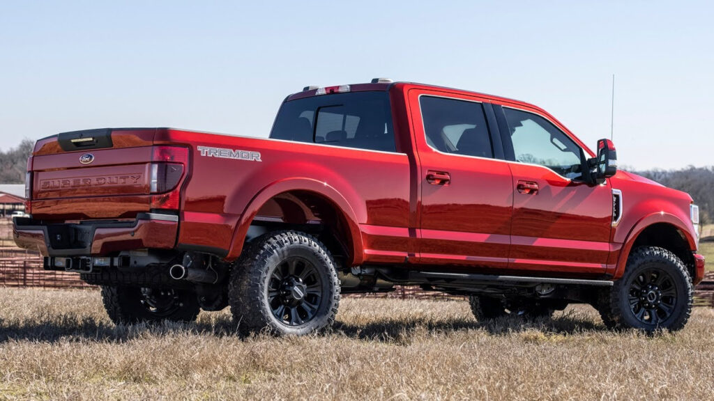 2022 Ford F 250 Super Duty Lariat Tremor With Sport