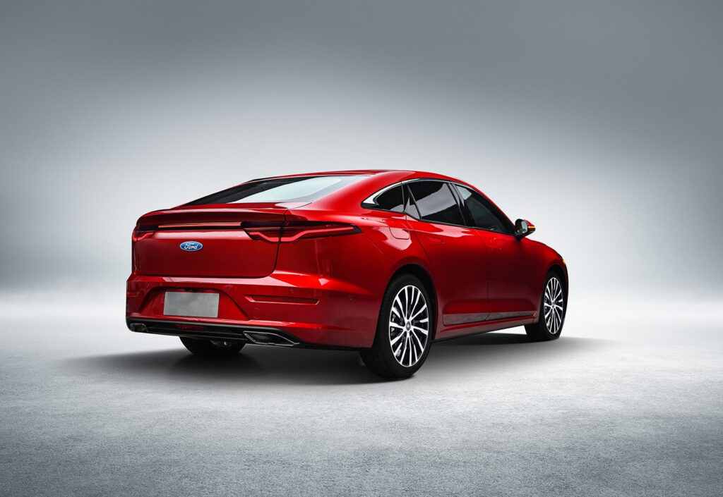 2022 Ford Fusion Rendered With Sedan Styling It ll