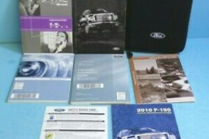 2010 Ford F150 Owners Manual