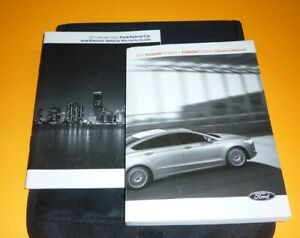 2014 FORD FUSION HYBRID ENERGI OWNERS MANUAL GUIDE SET 14