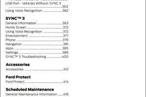 2019 Ford Transit Connect Owners Manual Pdf