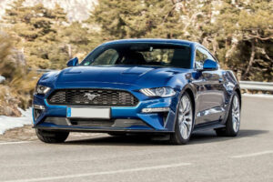 2022 Ford Mustang Antimatter Blue – Changes